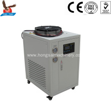 1hp 2.8kw mini glycol chiller air cooled